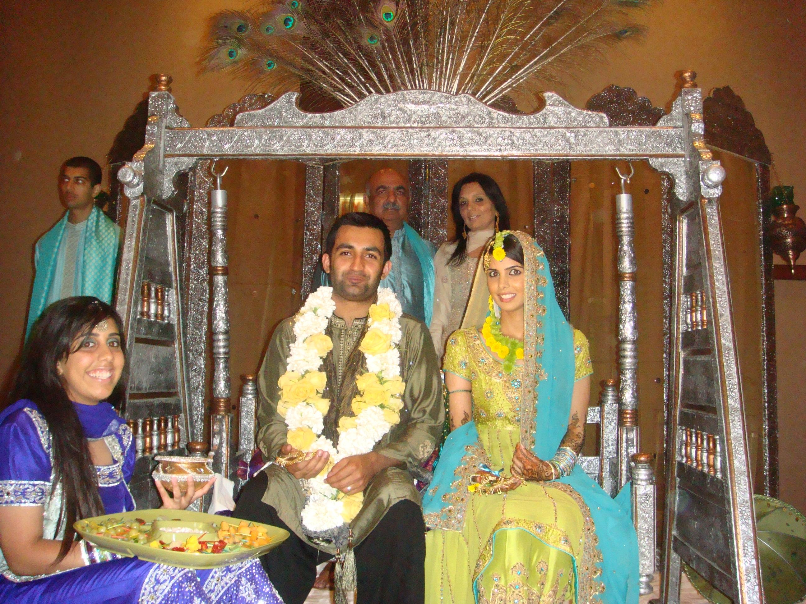 Mehndi Raat Ceremony : Qasim sahar